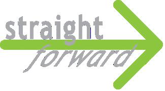 Straightforward logo