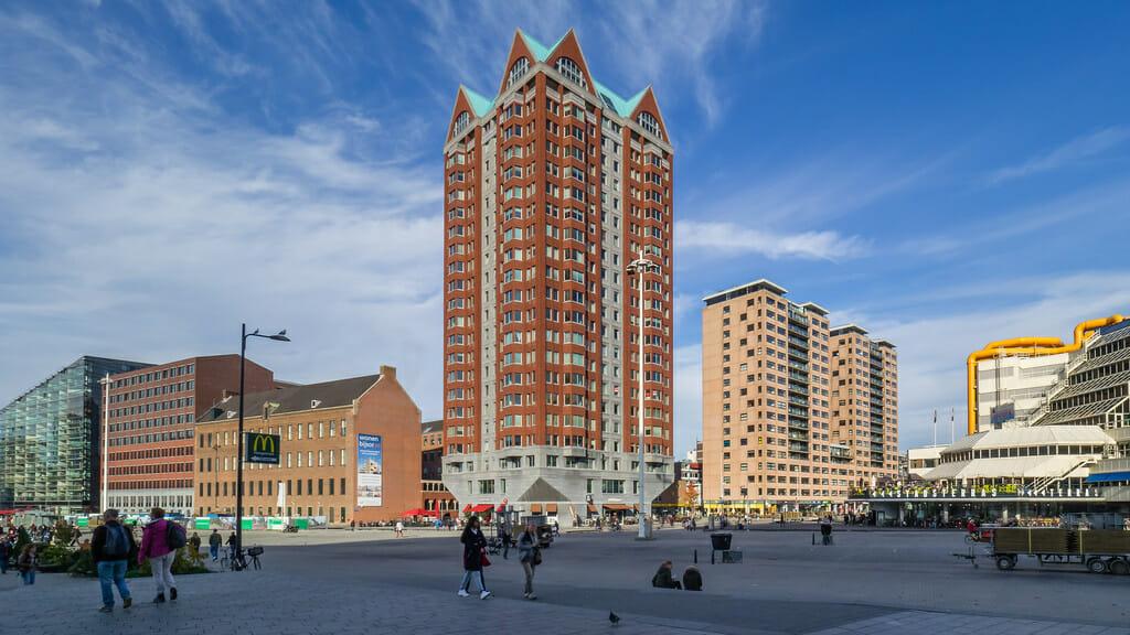 Woontoren Laurenshof Rotterdam